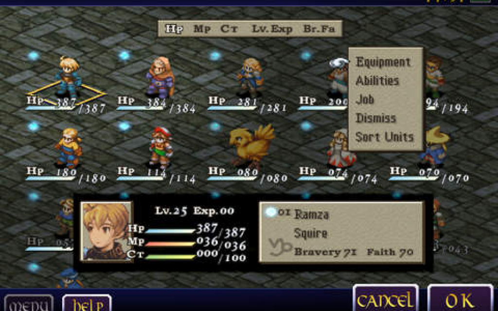 Final Fantasy Tactics - The Lion War v2.1m