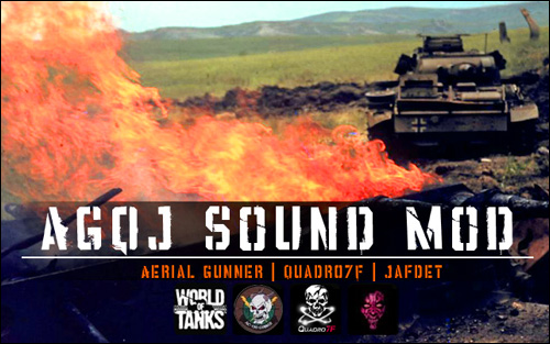AGQJ Sound Mod для World of Tanks 0.8.9