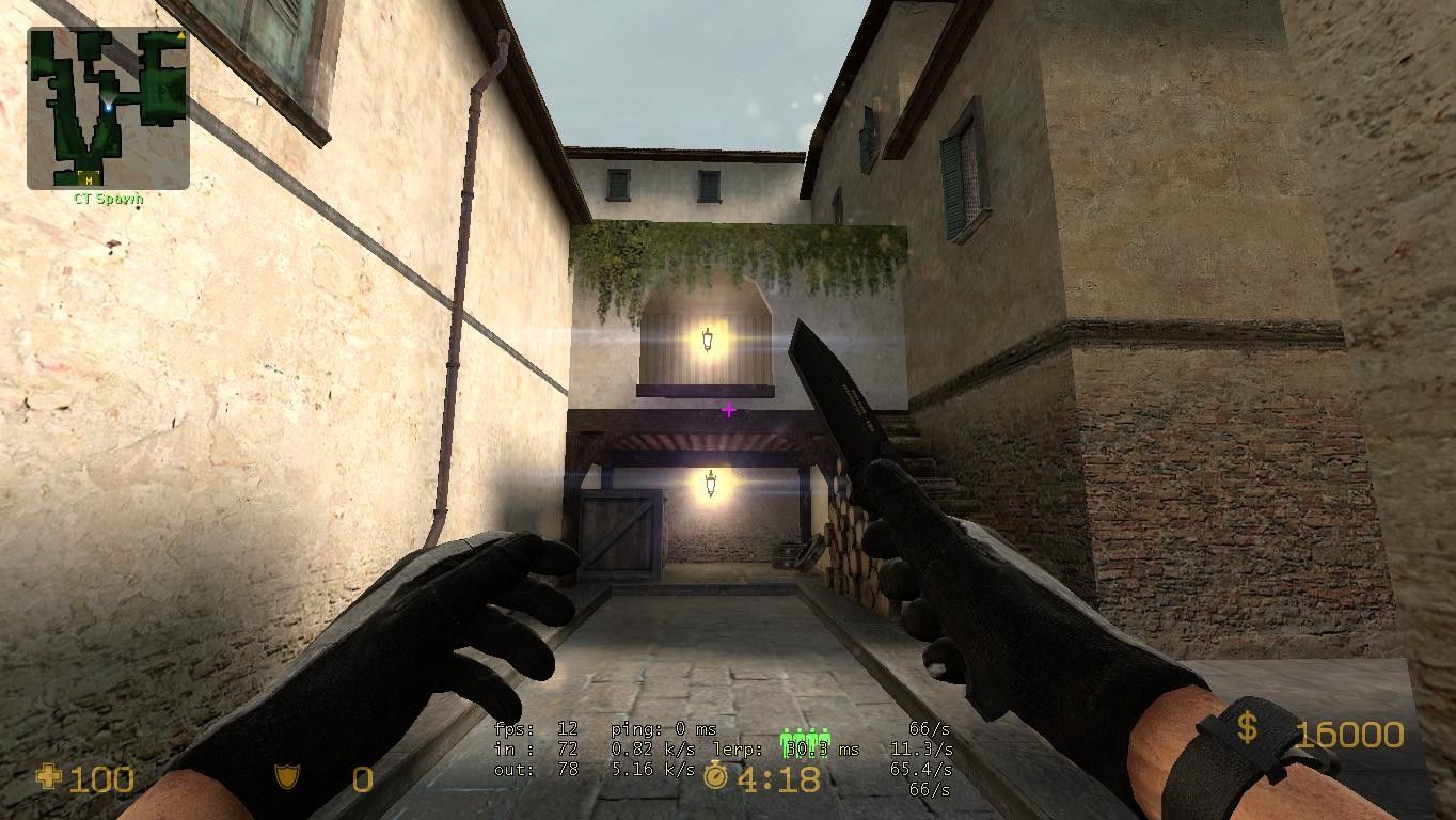 Плагин Cinematic Lens Flare для Counter-Strike: Source
