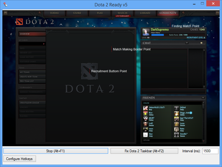 Dota 2 Ready v5.0 - Dota 2 MM Auto Accept