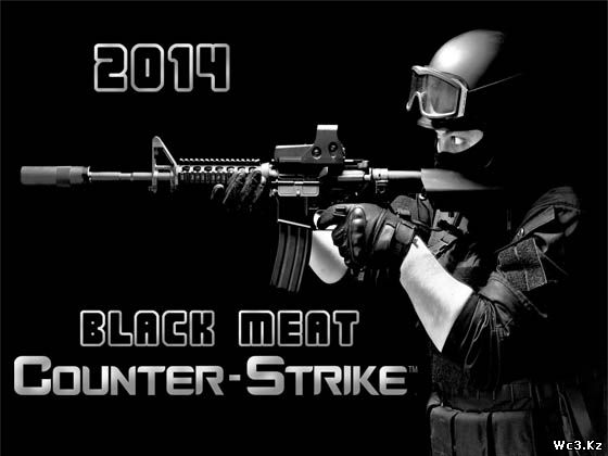Counter-Strike 1.6 Black Meat (Русская версия/2014)