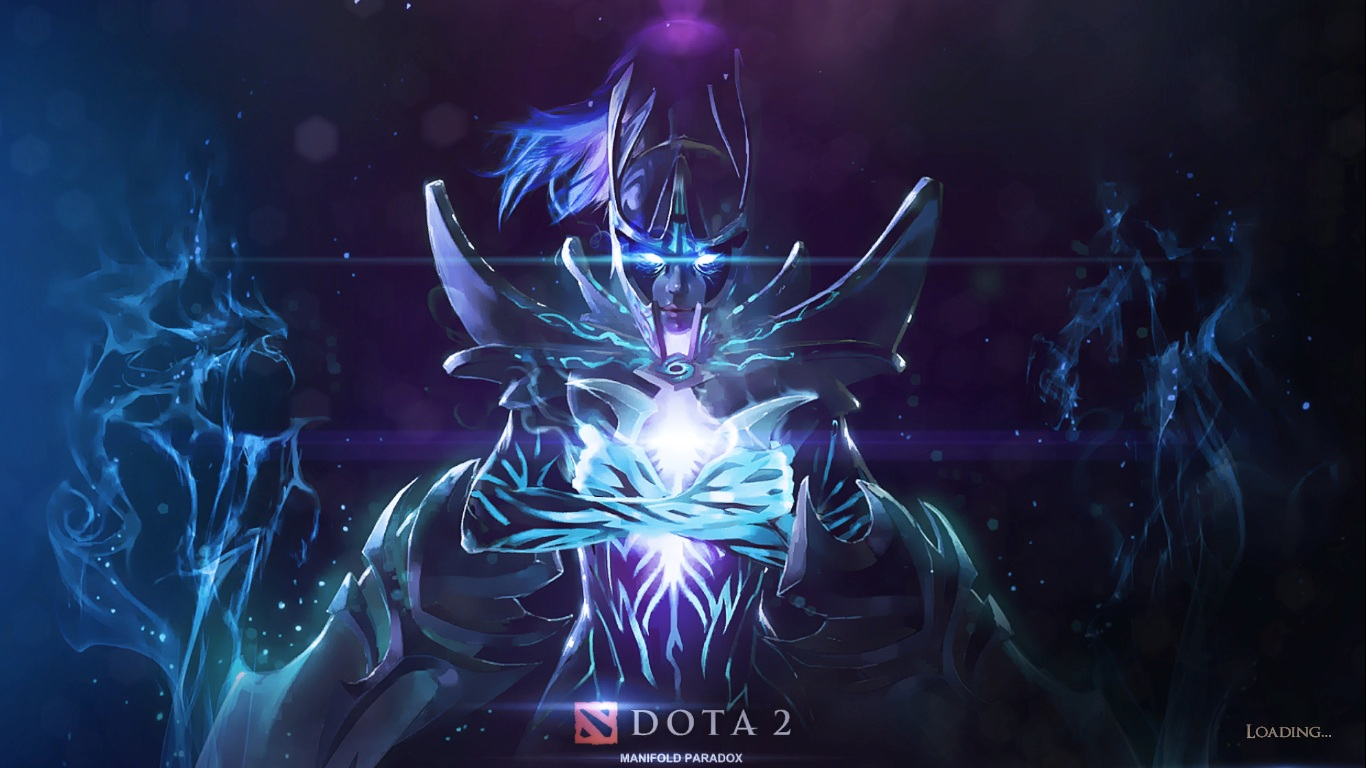Лоадскрин Phantom Assassin Arcana для DotA 2