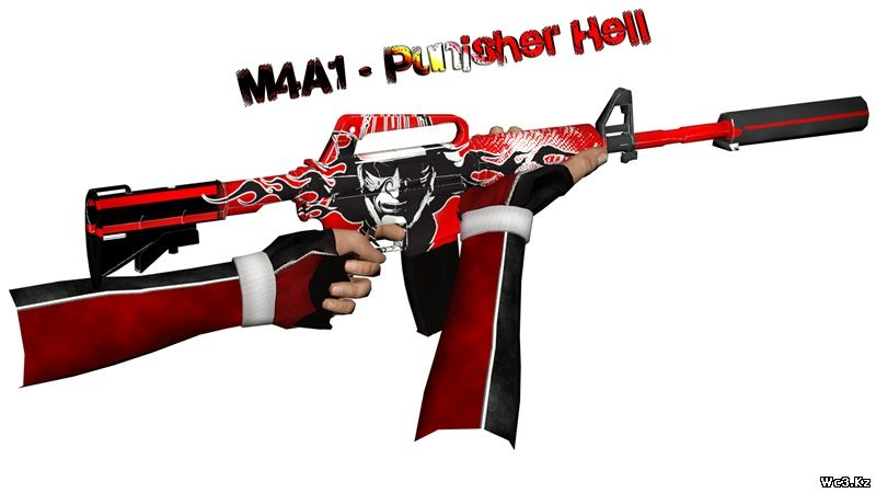 M4A1 - Punisher Hell для CS:S