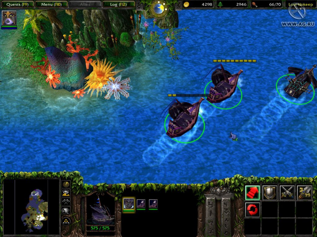 Игру warcraft 3 frozen throne